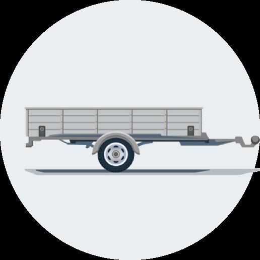 tilhenger-ikon